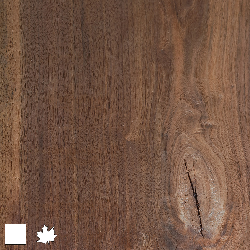 Natural Solid Walnut